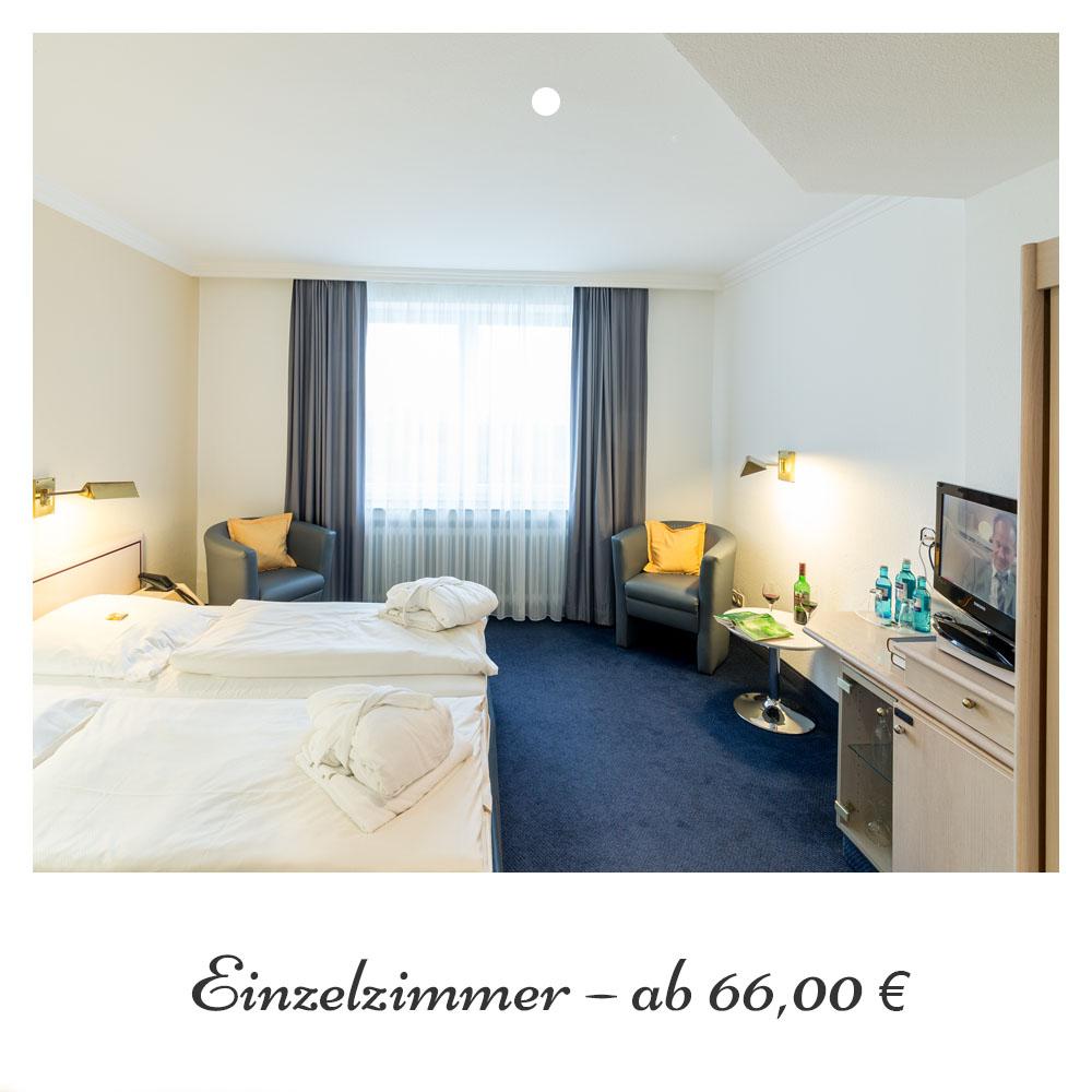 Einzelzimmer ab 66,- €