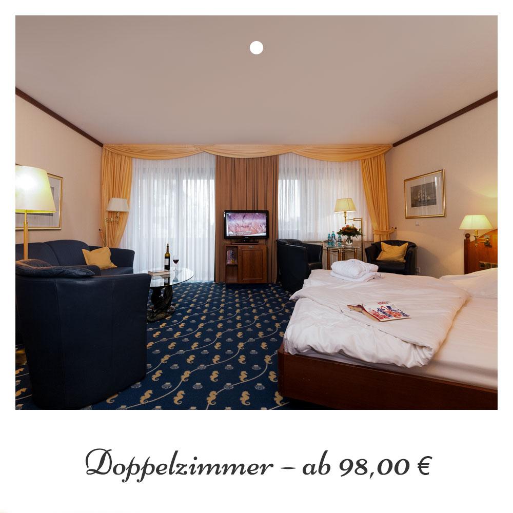 Doppelzimmer ab 98,- €