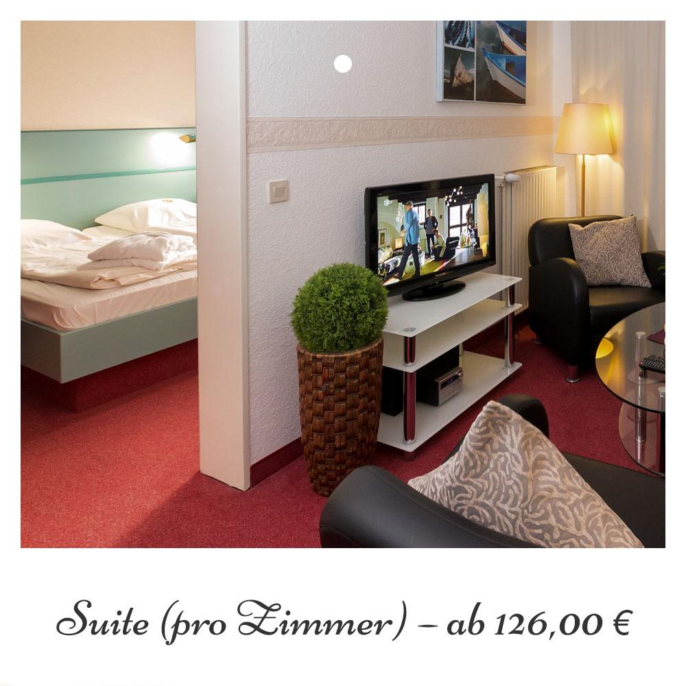 Suite ab 126,- €
